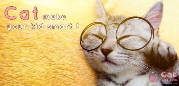 เลี้ยงแมวช่วยให้เด็กฉลาดขึ้น...จริงอ๊ะ !?!?!