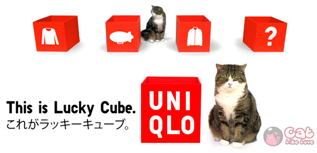 [News] UNIQLO – Lucky Cube with Maru
