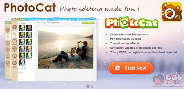 [Free Apps] แต่งรูปสุดเลิศ แค่ปลายนิ้วก็สวยได้ภายใน 2 นาที กับ PhotoCat เมี๊ยววว