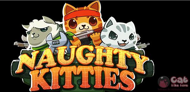 [Free Apps] Naughty kitties ทหารแมวเหมียวถือปืนแบกปูนไปโบกต่างดาว!!!