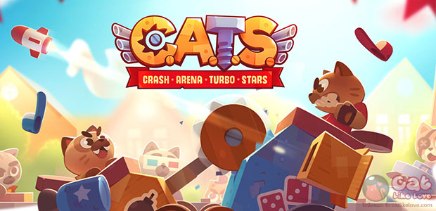 [Free Apps] ประลองรถศึกแบบเหมียวๆ ไปกับ C.A.T.S: Crash Arena Turbo Stars
