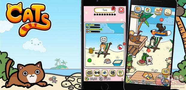 [Free Apps] LINE Cats เกมล่อแมวสไตล์ไลน์เกมส์มาแล้วจ้า
